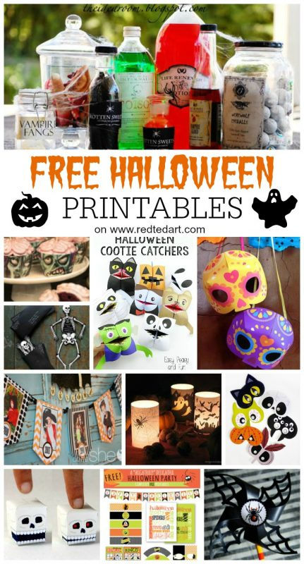 47 Free Halloween Printables - Oh wow, these are some of the cutest and super fun Halloween Printables I have seen in a long time. Whether you need Halloween Party Printables, gorgeous Halloween Garland printables or just some fun activities to print for the kids this Halloween, check out this comprehensive list of fun and free Halloween Printables today (and bookmark for later in the year!)