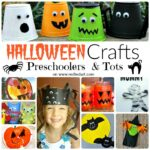 37 Cute & Easy Halloween Crafts for Toddlers and Preschool