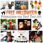 Free Halloween Printables for Adults & Kids