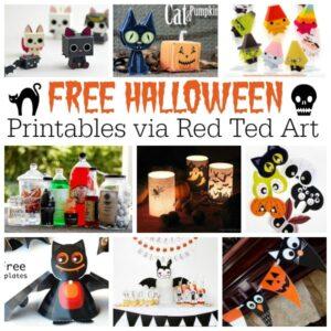 Love Halloween Printables