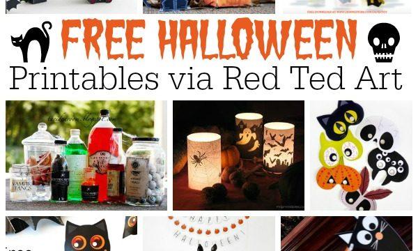 47 Free Halloween Printables