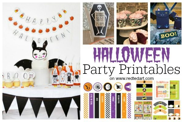 graphic about Free Halloween Printable known as Absolutely free Halloween Printables for Older people Little ones - Purple Ted Artwork