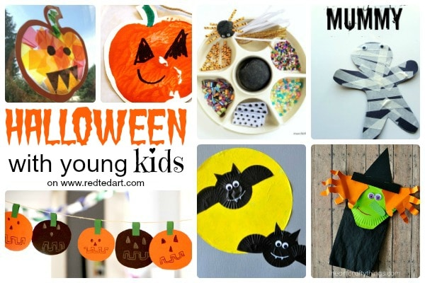 37 Cute Easy Halloween Crafts For Toddlers And Preschool Red Ted Art