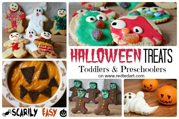 Fun Halloween Treats that Preschoolers can help make