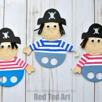Awesome Pirate Finger Puppets