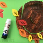 Autumn Tree Paper Plate Whirligig