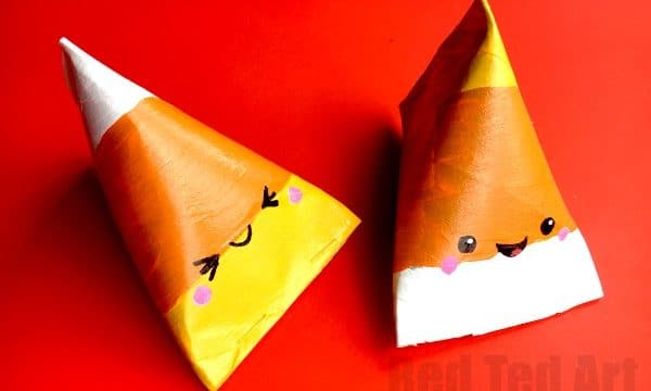 Candy Corn Gift Box DIY