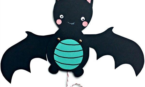Bat Paper Puppet