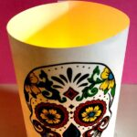Paper Day of the Dead Luminaries