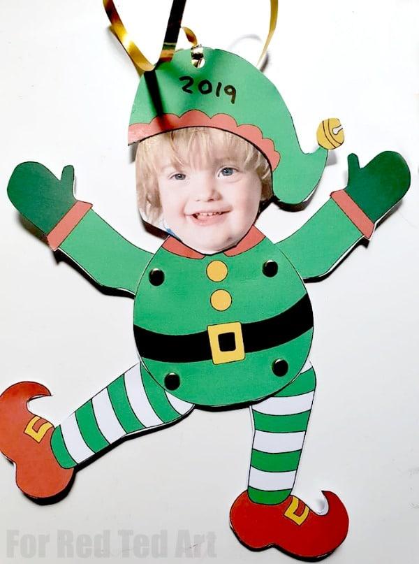 Child Elf Paper Puppet