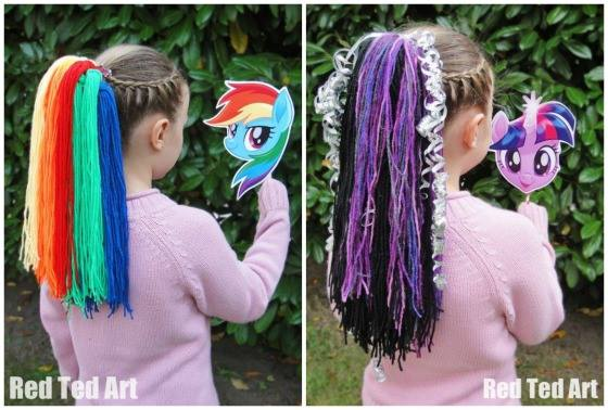 My Little Pony The Movie Party Craft Red Ted Art Make Crafting With Kids Easy Fun
