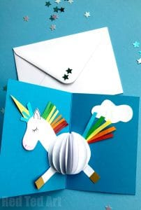 Easy Unicorn Crafts Red Ted Art