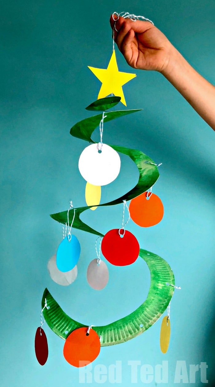 Classroom Christmas Tree Craft