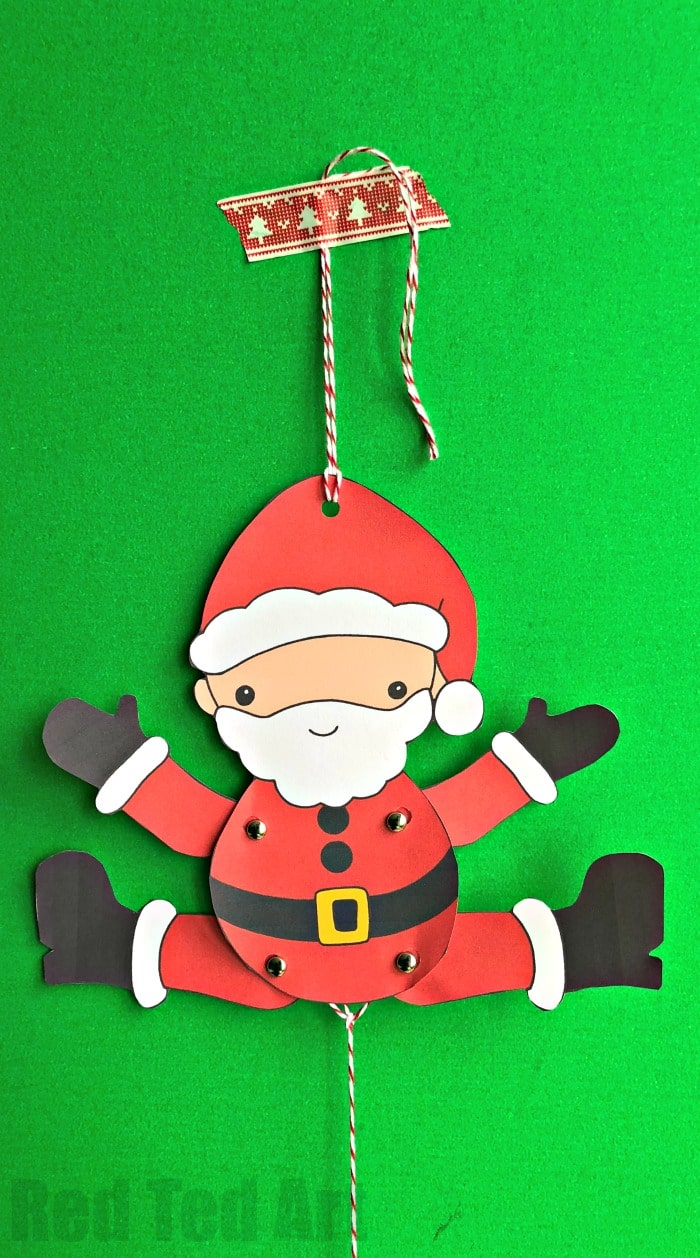 Multicultural Santa Paper Puppets. We have a set of 5 adorable Santa Puppets for you to download, print and assemble. Aren't these Father Christmas Puppets the cutest?