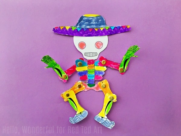 Day Of The Dead Puppet Hello Wonderful Red Ted Art S Blog