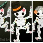 Day of the Dead Paper Puppet Template
