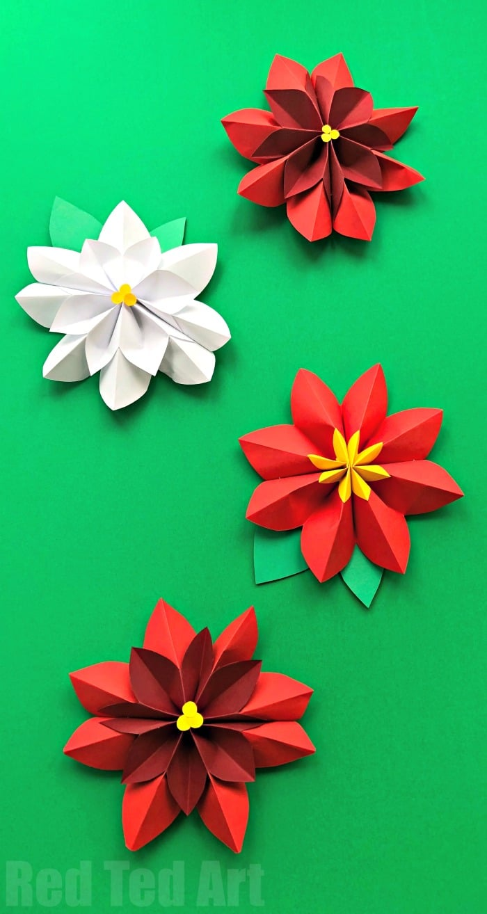 Paper flowers easy flowers ideas for review Simple flower decoration ideas