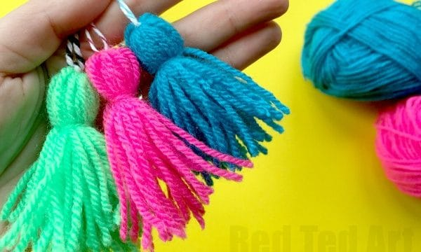 how to make a simple tassle