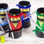 The LEGO NINJAGO Movie Craft – TP Roll Ninjas
