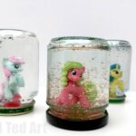 My Little Pony DIY Snowglobes