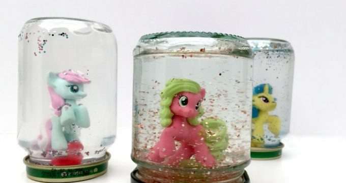 My Little Pony DIY Snowglobes