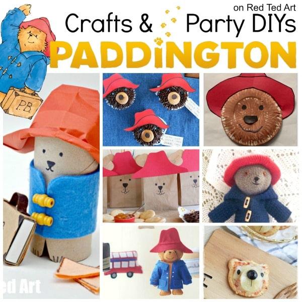 Paddington Bear Party Ideas Crafts Red Ted Arts Blog