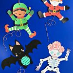 DIY Paper Puppets with Templates