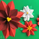 Easy Paper Flowers Poinsettia