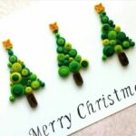 Paper Quilled Christmas Trees