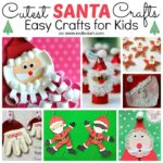Easy Santa Craft Ideas for Kids