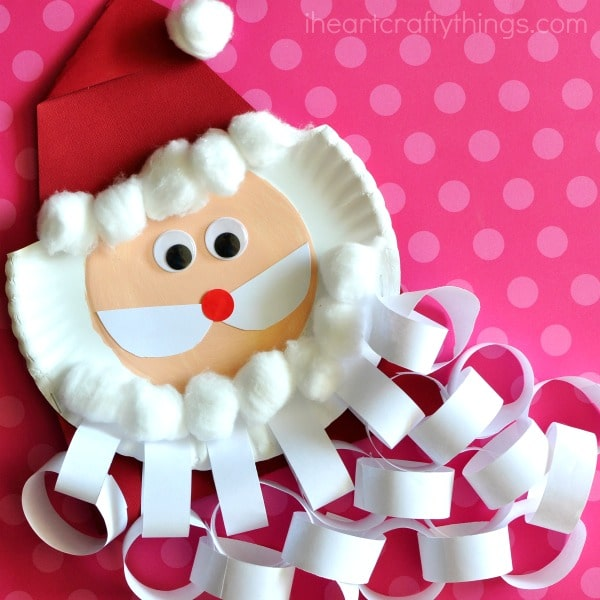 Santa Christmas Countdown Craft 2