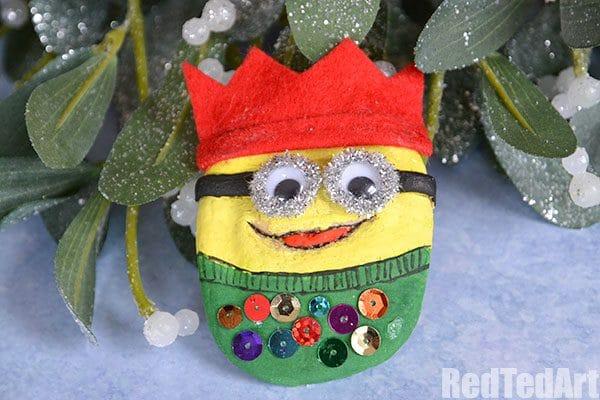 christmas jumper minion ornament - Minion Christmas Ornaments