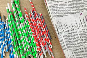 And Here Are Your Additional Newspaper Craft Ideas Links