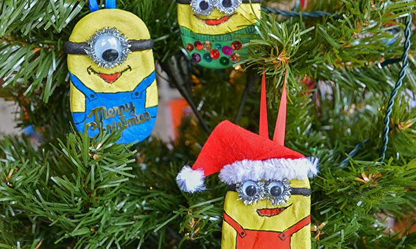 DIY Minions Ornaments with Despicable Me 3