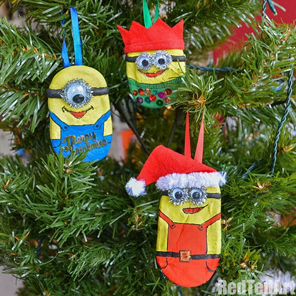 bananas if you enjoyed these minion ornaments