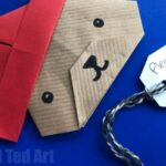 Easy Paper Paddington Bear Craft