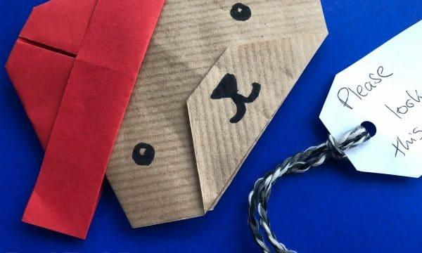 Easy Paper Paddington Bear Craft