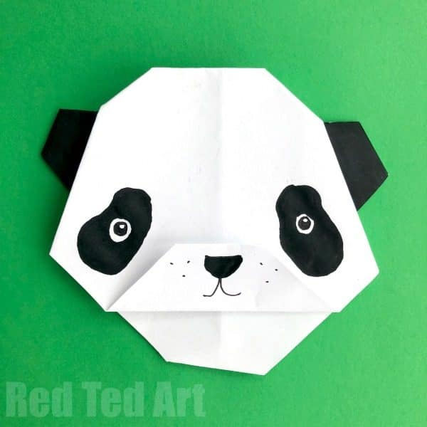 Easy Origami Bear For Kids We Love Paper Crafts And These