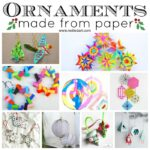 Paper Christmas Ornament DIY Ideas