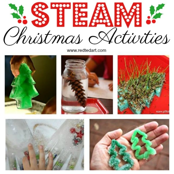 #Steam #science #christmas #christmasactivities #steamchristmas #christmasscience #teachers