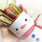 Snowman Pencil Holder