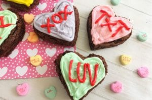 Conversation heart crafts red ted art 39 s blog for Arts and crafts for brownies
