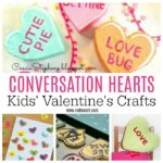 Conversation Heart Crafts
