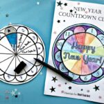 2020 Countdown Clock Printable for New Year's Eve