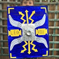 DIY Roman Shield KS2