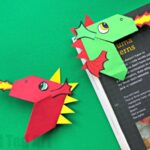 Fun Dragon Corner Bookmark Design