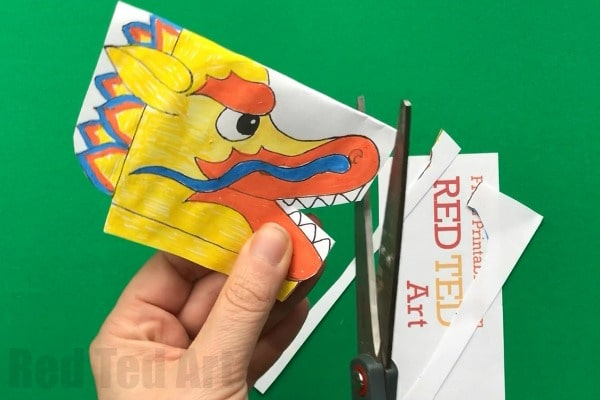 Paper Plate Dragon Twirler Red Ted Arts Blog