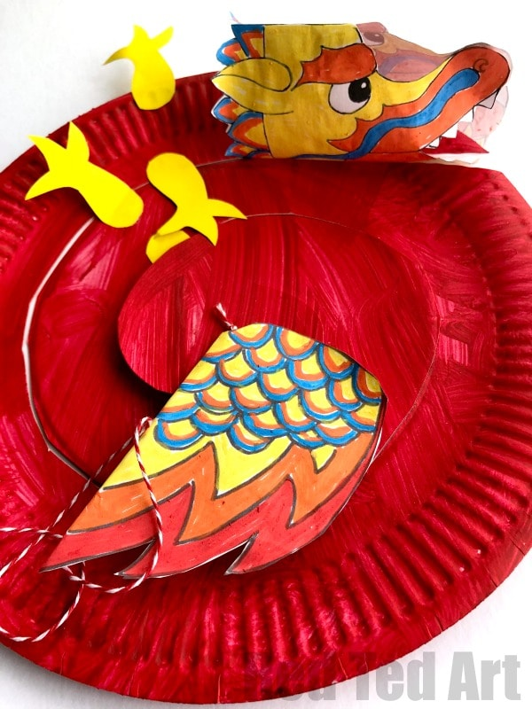 Easy Chinese New Year Crafts Ideas For Kids 2021 Red Ted Art