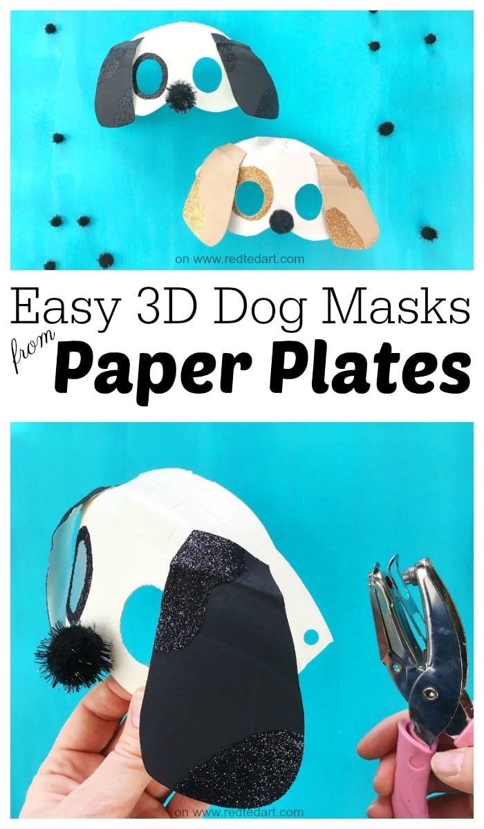 Creating A Dog Mask: 3D Dog Mask DIY