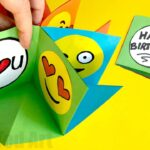 Easy Emoji Pop Up Cards